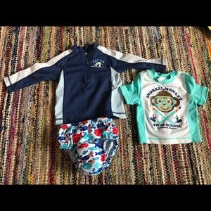 Baby Gap and old navy swimming pieces